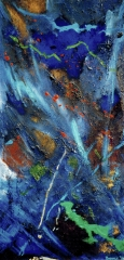 """oil on canvas 2 of 2 diptych 27.5"""" x 55"""" sold"""
