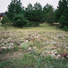 Starhouse Labyrinth near Boulder, Colorado (Chapter 14, Girls Don't Ride Motorbikes)