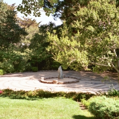 Labyrinth at the Mercy Center in Burlingame, California