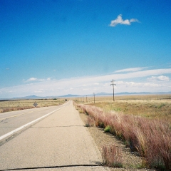 Empty Roads in New Mexico