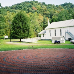 Labyrinth at Pleasant Valley United Methodist Church, Weirton, West Virginia