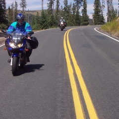 Cruising the Rockies, courtesy of Zigy Kaluzny