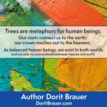 Trees are Metaphors for Human Beings