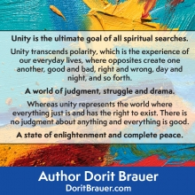 Unity is the Ultimate Goal