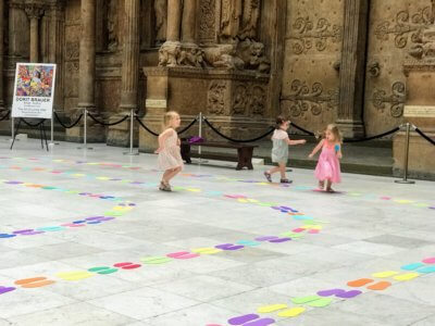 Carnegie Museum labyrinth installation from Dorit Brauer